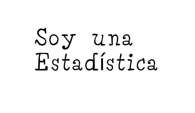 Soy una estadística